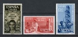 Sahara 1965. Edifil 239-41 ** MNH. - Sahara Spagnolo