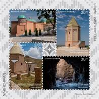 Azerbaijan Stamps 2019 Religious Sanctuaries Of Nakhchivan Mosk Moqsue - Azerbaijan