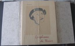 Graphisme De Manet: Essai De Catalogue Raisonné Des Dessins...Jean MATHEY & F.NOBELE 1961...Détails Scan - Arte