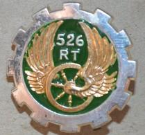 Rare Insigne 526° Groupe De Transport - Armée De Terre