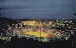 FOOTBALL STADIUM - OLYMPIC STADIUM, STADIO OLIMPICO. ROMA DI NOTTE. POSTAL CIRCULATED 1975 -LILHU - Fútbol