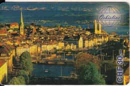 SWITZERLAND - Zurich, Orbisline Prepaid Card CHF 30, Used - Suiza