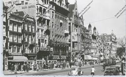 AMSTERDAM, Damrak, Tram, VW Käfer, Citroen DS, 1959 - Amsterdam