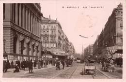 PIE-Z SDV-19-4372 : MARSEILLE. RUE CANNEBIERE. - The Canebière, City Centre