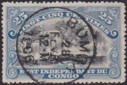 Congo    .    OBP   .    Zegel     .    O     .     Gebruikt   .   /   .  Oblitéré - Belgisch-Kongo
