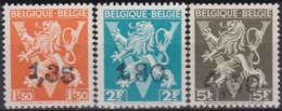 Belgie    .    OBP   .    724 DD/EE/FF  Keur    .   **   .     Postfris   .   /   .  Neuf Avec Gomme Et SANS Charniere - Belgium