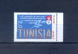 Tunisia/Tunisie 2019 - Stamp - Tunisia Non-permanent Member Of The United Nations Security Council - MNH** - Tunisia
