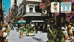 BUENOS AIRES - CALLE FLORIDA. ARGENTINA MUNDIAL DE FOOTBALL '78, POSTAL NOT CIRCULATED -LILHU - Argentina