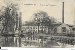Cpa Gouvieux, Scierie De Toutevoie - Gouvieux