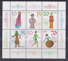 DDR Kleine Verzameling 1979 Nr 2135/40 **, Zeer Mooi Lot Krt 4189 - Collections (without Album)