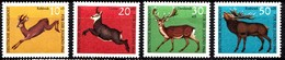 Allemagne 1966 Mi.:nr:511-514 Hochwild  Neuf Sans Charniere / Mnh / Postfris - [7] République Fédérale