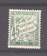 0ob  0411  -  France -  Taxes   :  Yv  36  * - 1859-1955 Mint/hinged