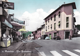PRATOLINO - VAGLIA - FIRENZE - BAR CON INSEGNA PUBBLICITARIA BIRRA PERONI / CINZANO / MARTINI / GELATI ALEMAGNA - Firenze (Florence)