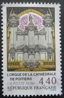 France N°2890 ORGUE De La Cathédrale De Poitiers Oblitéré - Musique