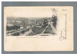 JM17.12 / CPA / NAMUR - ROUTE CARROSSABLE ET PARC DE LA CITADELLE - PANORAMA - Namur