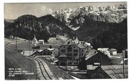 1928 - SELVA CON GRUPPO SELLA VAL GARDENA DOLOMITI BOLZANO 1951 - Bolzano (Bozen)