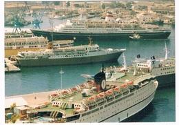 SCH-947  ANCONA : With Several Cruise-Ships - Passagiersschepen