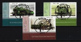 BUND Mi-Nr. 2946 - 2948 Eckrandstücke Links Unten Gestempelt - BRD