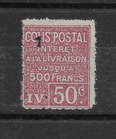 Colis Postal N° 73 ** TTBE - Cote Y&T 2020 De 15 € - Ungebraucht