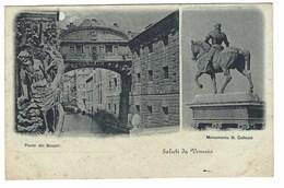 1943 - VENEZIA 2 VEDUTE 1907 CIRCA - Venezia