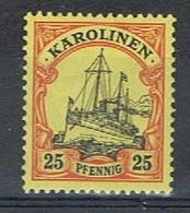 Duits Carolinen Y/T 11 (**) - Colony: Kiauchau