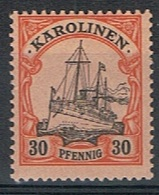 Duits Carolinen Y/T 12 (**) - Colony: Kiauchau