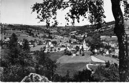12 - ESPEYRAC : Vue Générale Côté Ouest - CPSM Village (240 Habitants) Dentelée Noir Blanc Format CPA 1957 - Aveyron - France
