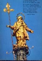 Milano - La Statua Della Madonnina - Formato Grande Viaggiata – E 14 - Vergine Maria E Madonne