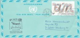 UN New York Airmail IVA 79 Hamburg - 1979 (45631) - Poste Aérienne