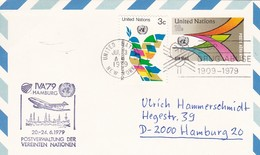 UN New York Airmail IVA 79 Hamburg - 1979 (45632) - Poste Aérienne