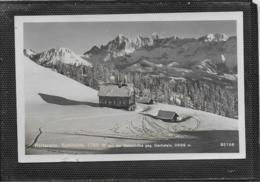 AK 0386  Reiteralm-Schihütte Auf Der Gasselhöhe Gegen Dachstein ( Schladming ) - Bahnpost Um 1941 - Schladming