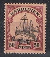 Duits Carolinen Y/T 14 (**) - Colony: Kiauchau