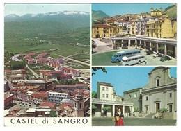 1969 - CASTEL DI SANGRO 3 VEDUTE L' AQUILA 1960 CIRCA - Italia