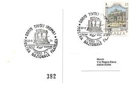 Tivoli 22-9-1974 MOSTRA NAZIONALE FILATELICA - Esposizioni Filateliche