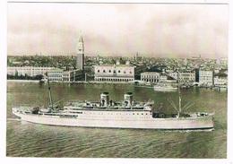 SCH-973   S.S. MARCO POLOat Venezia - Koopvaardij