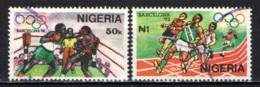 NIGERIA - 1992 - Summer Olympics Barcelona - USATI - Nigeria (1961-...)