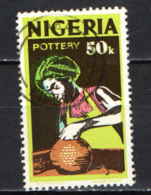 NIGERIA - 1973 - Pottery - USATO - Nigeria (1961-...)