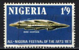 NIGERIA - 1972 - All-Nigeria Festival Of The Arts, Kaduna - Bone Harpoon, Daima - USATO - Nigeria (1961-...)