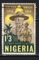NIGERIA - 1965 - Lord Baden-Powell & Nigerian Boy Scout - USATO - Nigeria (1961-...)