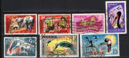 NIGERIA - 1965 - FAUNA AFRICANA - USATI - Nigeria (1961-...)