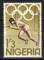 NIGERIA - 1964 - 18th Olympic Games, Tokyo, Oct. 10-25 - USATO - Nigeria (1961-...)