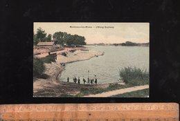 MONTCEAU LES MINES Saône Et Loire 71 : L'étang Duplessy  Avec Enfants - Montceau Les Mines
