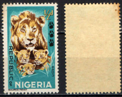 NIGERIA - 1965 - Lioness And Cubs - MNH - Nigeria (1961-...)