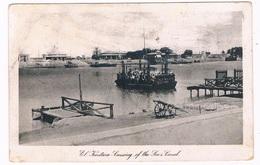 SCH-980   EL-KANTARA : Crossing The Suez Canal ( Ferry ) - Ferries