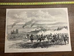 1870 MI GRAVURE COMBAT DE SAARBRUCK SAARBRUCKEN GAUDRAU SARREBRUCK - Collections