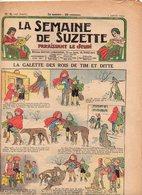La Semaine De Suzette N°6 La Galette Des Rois De Tim Et Ditte - Petite étoile - Bécassine Dans La Neige VI. De 1933 - La Semaine De Suzette