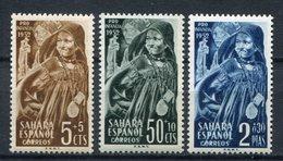 Sahara 1952. Edifil 94-96 ** MNH. - Sahara Spagnolo
