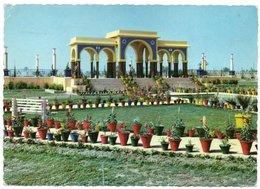 IRAQ/IRAK - BASRAH ANDALUS GARDEN / SWISSAIR AIR MAIL LABEL - 1963 - Iraq