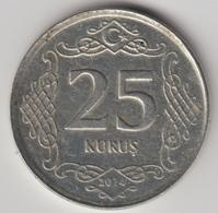 @Y@  Turkije    25     Kurus   2014    (4786) - Turquie