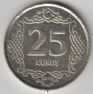 @Y@  Turkije    25     Kurus   2015    (4785) - Turquie